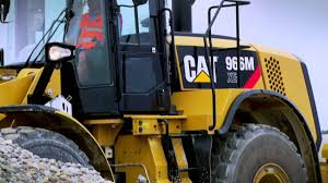 cat m series wheel loaders operator comfort efficiency europe