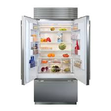 sub zero built in refrigerators french door built in custom panel