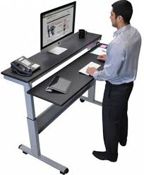 adjustable stand up desk