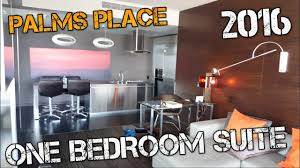 las vegas i palms place one bedroom suite 2016 youtube