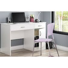 Modern Desk Office by Axess Contemporary Desk White Desks U0026 Workstations Best Buy