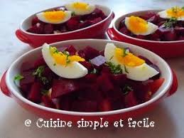 cuisiner les betteraves rouges salade de betterave cuisine simple et facile