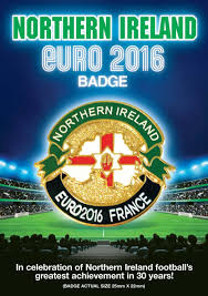 northern ireland euro 2016 championship supporters pin badge