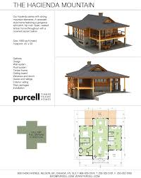 purcell timber frames the hacienda mountain prefab full home