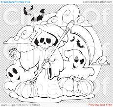 grim reaper coloring pages imchimp me