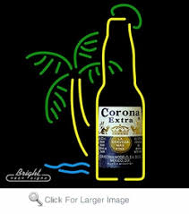 palm tree neon light neon corona extra beer sign with palm tree only 299 99 signs n
