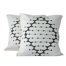 Black And White Throw Pillows Black White Galaxy Throw Pillow From