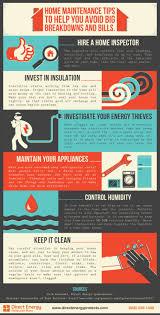 Home Maintenance Tips Infographic Infographics Typography U0026 Ui