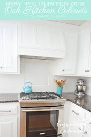 repainting kitchen cabinets white best 25 painting oak cabinets white ideas on pinterest painted