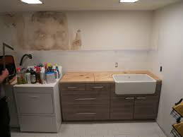 Laundry Room Sinks With Cabinets by Cabinet Happy Confessions Oh No Little Laundry Room Project