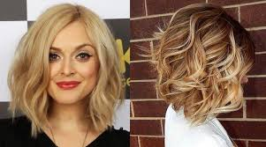 extended neckline haircut fashionable haircuts of medium length for women variants with bangs