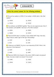 grade 3 maths worksheets subtraction 4 3 the 4 and 5 digit