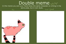Double Picture Meme Generator - double meme template my half by sophiegirl2001 on deviantart