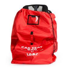 Car seat travel bag red loar creations