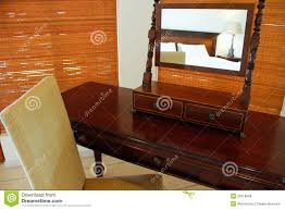 antique dressing table stock photo image of makeup mirror 5555428