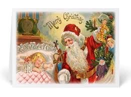 images of victorian christmas cards vintage victorian santa christmas cards 36055 custom invitations