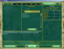 mp games age of mythology user interface