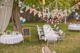uncategorized backyard party decorations combined with white tent