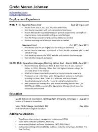 Resume Should Be How Many Pages Should Resumes Be One Page Resume Ideas