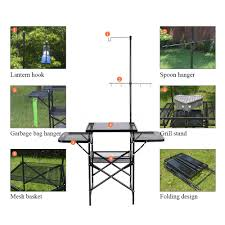 portable camping sink outdoor camp kitchen sink grill food prep