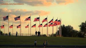 Washington Dc Flag American Flags In Circle Around Washington Monument Washington Dc