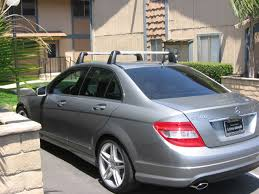 mercedes c class roof bars for sale w 204 c class roof racks mbworld org forums