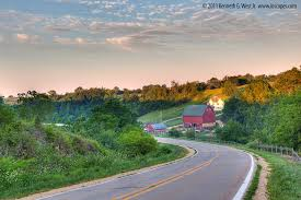 scenic byway grant wood scenic byway iowa tourism map travel guide things to