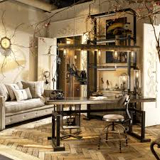 decor cool industrial chic office decor home design planning