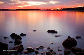 we are going to see this every day folsom lake sunset cali