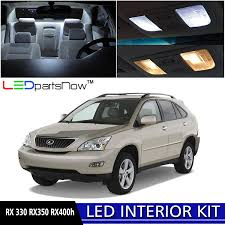 lexus rx330 stereo replacement amazon com ledpartsnow 2004 2009 lexus rx330 rx350 rx400h led