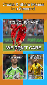 Meme Creator With Own Image - meme creator for euro 2016 make your own meme with top superstar