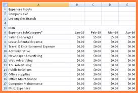 Restaurant Expenses Spreadsheet 5 Business Expenses Spreadsheet Template Costs Spreadsheet