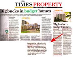 Global Houses Signature Global Gurgaon U2013 News Updates Of Property Trends U0026 News