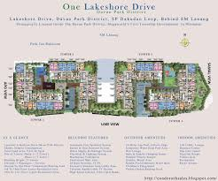 Day Care Center Floor Plan One Lakeshore Drive Davao Park District One Lakeshore Drive