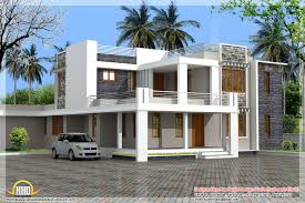 contemporary house floor plans home design contemporary kerala villa design and plan photoage low