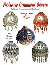 beaded ornament covers by glenda payseno paperback lulu
