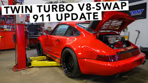 twin turbo porsche twin turbo chevy gm v8 swapped porsche 911 engine is in youtube