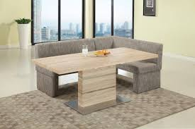 Nook Dining Room Table Modern Light Oak Nook Dining Set With Self Storing Extension