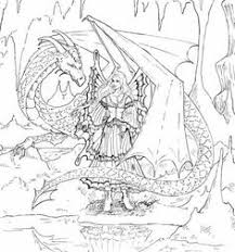 image result free fantasy coloring pages grown ups