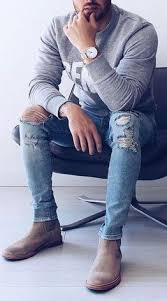 Ripped Denim Jeans For Men Diy How To Make Your Ripped Jeans At Home Easily