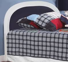 navy blue upholstered headboard home design ideas