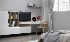 Bedroom Wall Units by Bedroom Tv Unit Interior Design Ideas