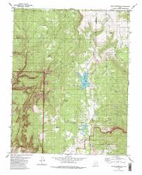 Utah Road Map by Kolob Reservoir Topographic Map Ut Usgs Topo Quad 37113d1