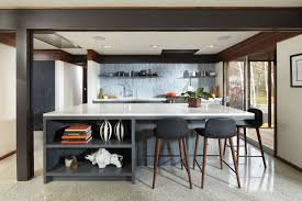 Midcentury Modern Kitchens - a midcentury modern revival for a 1960s home midwest home magazine