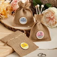 burlap party favor bags design your own burlap party favor bags