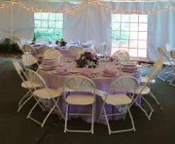5 foot round table rental services party tent seating styles