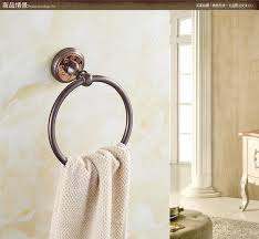 Purple Bathroom Accessories by All Copper Towel Ring Fashion Orb Towel Rack Round Towel Hanging