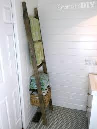 Bathroom Storage Shelves by Bathroom Decorative Ladder Bathroom Towel Storage Rack Ideas