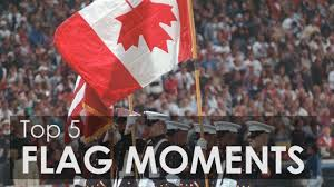 Distress Flag Upside Down Top 5 Canadian Flag Moments In Sport Youtube