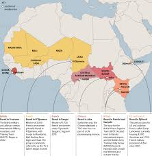Mali Map Africa by Mapped Where Are International Military Servicemen Stationed In